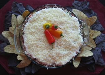 Throw a party with Donna's zesty Mexican Layered Dip