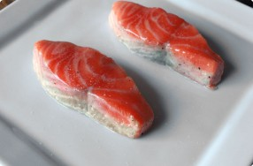 Butter-Steamed Salmon