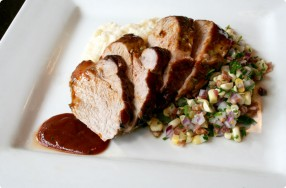 BBQ-Glazed Pork Tenderloin