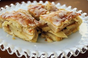 Apple Danish Bars