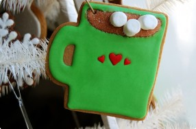 Cookie Decorating: Cocoa Mug