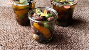 Herb-Marinated Olives