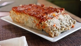 Chipotle Glazed Turkey Meatloaf