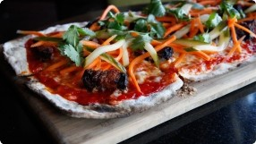 Spicy Korean Flatbread