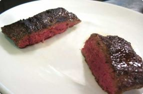 Perfectly Cooked Flat Iron Steak
