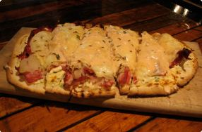 Reuben Flatbread Pizza