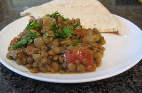 Masala Masoor (Spicy Lentil Curry)