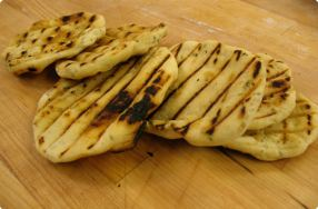 Grilled Asiago Rounds