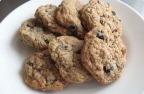 Sunrise Fruit & Nut Cookies