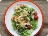 Chicken Tortilla Salad w/ Cilantro-Lime Dressing